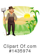 Farmer Clipart #1435974 by BNP Design Studio