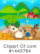 Farmer Clipart #1443784 by Graphics RF