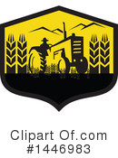 Farmer Clipart #1446983 by patrimonio