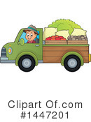 Royalty-Free (RF) Farmer Clipart Illustration #1447201