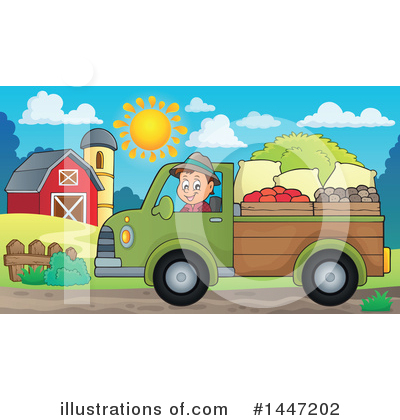Farmer Clipart #1447202 by visekart