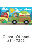 Royalty-Free (RF) Farmer Clipart Illustration #1447202