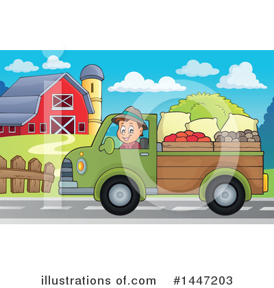 Farmer Clipart #1447203 by visekart