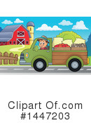 Royalty-Free (RF) Farmer Clipart Illustration #1447203