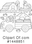 Royalty-Free (RF) Farmer Clipart Illustration #1448851