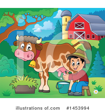 Farmer Clipart #1453994 by visekart