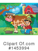 Royalty-Free (RF) Farmer Clipart Illustration #1453994