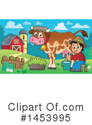 Royalty-Free (RF) Farmer Clipart Illustration #1453995