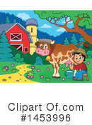 Royalty-Free (RF) Farmer Clipart Illustration #1453996