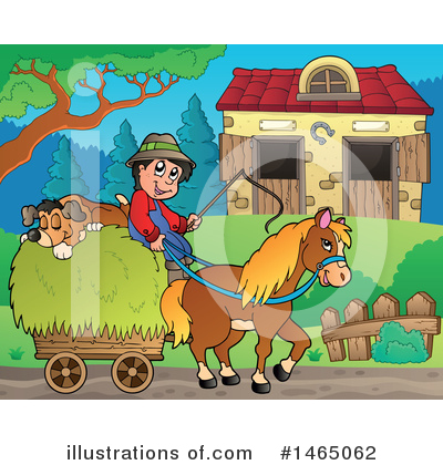 Farmer Clipart #1465062 by visekart