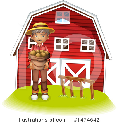 Farmer Clipart #1474642 by Graphics RF