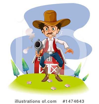 Guns Clipart #1474643 by Graphics RF