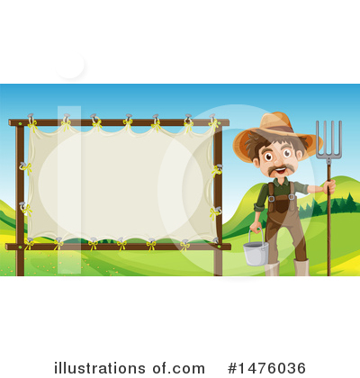 Farmer Clipart #1476036 by Graphics RF