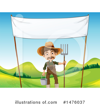 Farmer Clipart #1476037 by Graphics RF