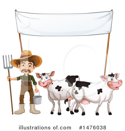 Cow Clipart #1476038 by Graphics RF