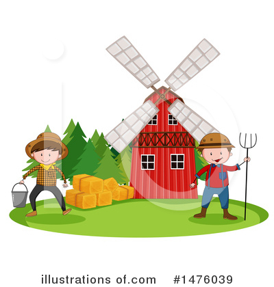 Farmer Clipart #1476039 by Graphics RF
