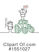 Farmer Clipart #1551027 by NL shop