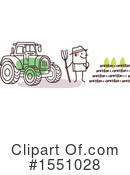 Farmer Clipart #1551028 by NL shop