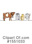 Farmer Clipart #1551033 by NL shop