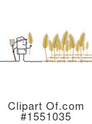 Farmer Clipart #1551035 by NL shop