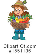 Farmer Clipart #1551136 by visekart