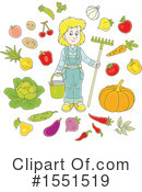 Farmer Clipart #1551519 by Alex Bannykh