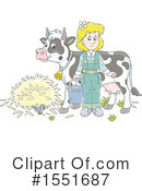 Royalty-Free (RF) Farmer Clipart Illustration #1551687