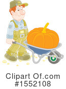 Farmer Clipart #1552108 by Alex Bannykh