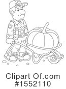 Farmer Clipart #1552110 by Alex Bannykh