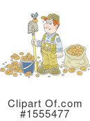 Farmer Clipart #1555477 by Alex Bannykh