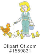 Farmer Clipart #1559831 by Alex Bannykh
