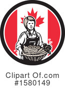 Farmer Clipart #1580149 by patrimonio