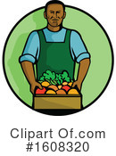 Farmer Clipart #1608320 by patrimonio