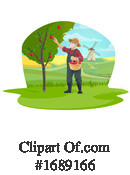 Farmer Clipart #1689166 by Vector Tradition SM