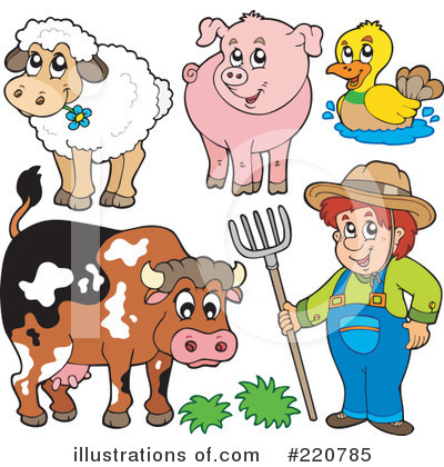 Farmer Clipart #220785 by visekart