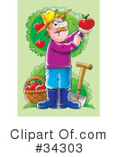 Farmer Clipart #34303 by Alex Bannykh
