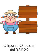 Royalty-Free (RF) Farmer Clipart Illustration #438222