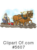 Royalty-Free (RF) Farmer Clipart Illustration #5607