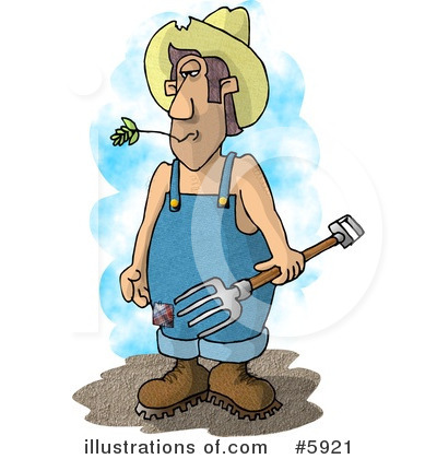 Farmer Clipart #5921 by djart