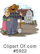 Royalty-Free (RF) farmer Clipart Illustration #5922
