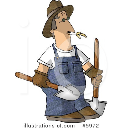 Farmer Clipart #5972 by djart