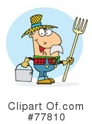 Royalty-Free (RF) farmer Clipart Illustration #77810