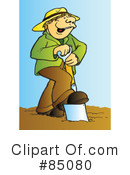 Royalty-Free (RF) farmer Clipart Illustration #85080