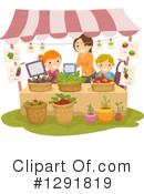 Royalty-Free (RF) Farmers Market Clipart Illustration #1291819