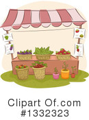 Farmers Market Clipart #1332323 by BNP Design Studio