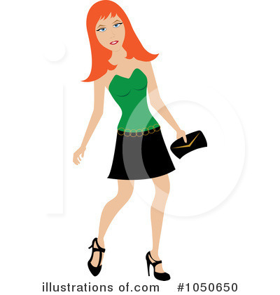 Royalty-Free (RF) Fashion Clipart Illustration by Pams Clipart - Stock Sample #1050650
