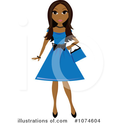 Fashion Clipart #1074604 by Pams Clipart