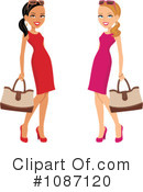 Royalty-Free (RF) Fashion Clipart Illustration #1087120