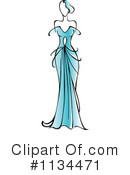Royalty-Free (RF) Fashion Clipart Illustration #1134471