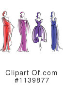 Royalty-Free (RF) Fashion Clipart Illustration #1139877